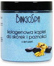 Parfums et Produits cosmétiques Bain de collagène au ginseng pour ongles et cuticules - BingoSpa Collagen Bath For Cuticles And Nails With Ginseng