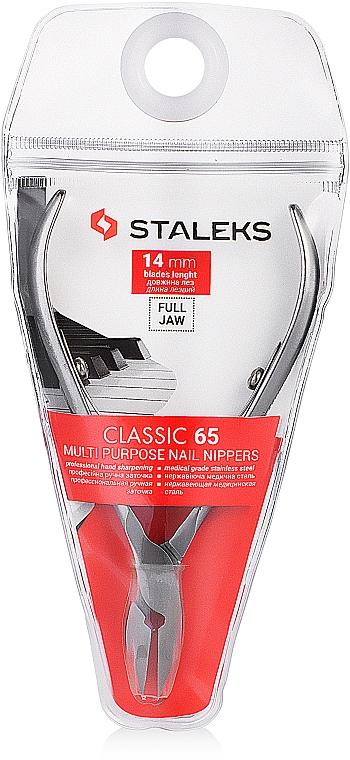 Pince à cuticules NC-65-14 (KM-06) - Staleks — Photo N1