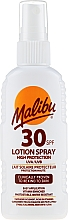 Parfums et Produits cosmétiques Lait solaire pour corps - Malibu Sun Lotion Spray High Protection Water Resistant SPF 30