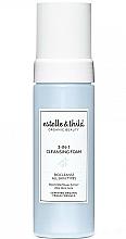Parfums et Produits cosmétiques Mousse nettoyante rafraîchissante à l'extrait de sureau noir pour visage - Estelle & Thild BioCleanse 3in1 Cleansing Foam