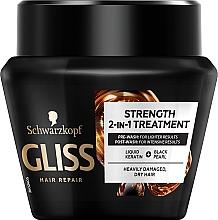 Parfums et Produits cosmétiques Masque au complexe de kératine pour cheveux - Schwarzkopf Gliss Kur Ultimate Repair Mask