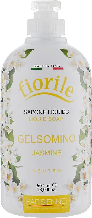 Savon liquide pour mains et corps, Jasmin - Parisienne Italia Fiorile Jasmine Liquid Soap