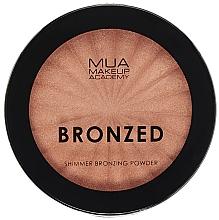 Parfums et Produits cosmétiques Poudre bronzante scintillante - MUA Bronzed Shimmer Bronzing Powder Solar Shimmer