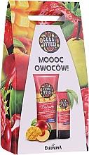 Parfums et Produits cosmétiques Farmona Tutti Frutti Peach & Mango - Set (baume pour corps/200ml + crème pour mains et ongles/75ml)