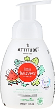 Parfums et Produits cosmétiques Savon liquide pour mains, Pastèque et Coco - Attitude Foaming Hand Soap Watermelon & Coco
