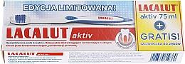 Parfums et Produits cosmétiques Lacalut Activ Paradontosis - Set (dentifrice/75ml + brosse à dents/1pcs)