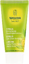 Parfums et Produits cosmétiques Lait à l'huile de noix de coco pour corps - Weleda Citrus Erfrischende Feuchtigkeitslotion