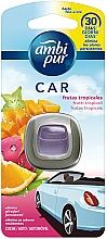 Parfums et Produits cosmétiques Désodorisant pour voiture, Fruits tropicaux - Ambi Pur