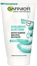 Parfums et Produits cosmétiques Mousse nettoyante à l'aloe vera pour visage - Garnier Skin Naturals