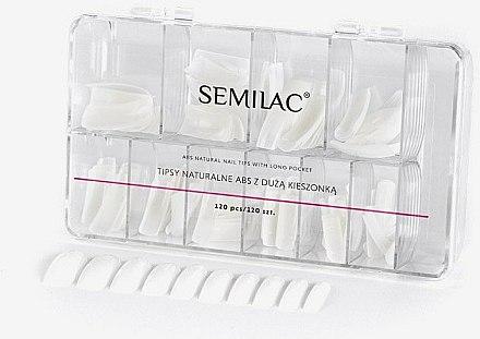 Faux ongles - Semilac Natural Tips Box