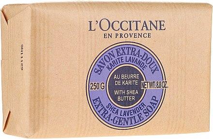 Savon au beurre de karité et lavande - L'occitane Shea Butter Extra Gentle Soap-Lavender — Photo N4