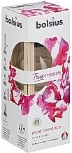 Parfums et Produits cosmétiques Bâtonnets parfumés, Rose et Ambre - Bolsius Fragrance Diffuser True Moods Pure Romance