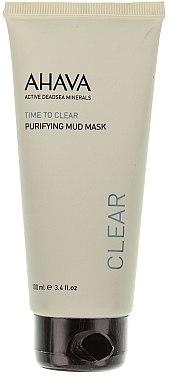Masque purifiant à l'huile de jojoba pour visage - Ahava Time To Clear Purifying Mud Mask — Photo N1