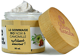 Parfums et Produits cosmétiques Gommage bio aux noix et camomille - Beauty Garden Noix & Camomille Face Scrub