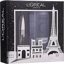 Parfums et Produits cosmétiques Set (mascara/8.9ml + eau micellaire/400ml) - L'oreal Paris Make-up Set