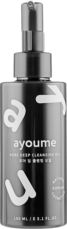 Huile hydrophile - Ayoume Pore Deep Cleansing Oil — Photo N1