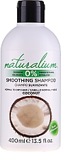 Parfums et Produits cosmétiques Shampooing adoucissant à la noix de coco - Naturalium Coconut Smoothing Shampoo