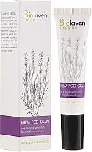 Parfums et Produits cosmétiques Crème bio à l'huile de lavande pour contour des yeux - Biolaven Eye Cream