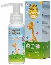 Parfums et Produits cosmétiques Huile à l'huile d'inca inchi et de pêche bio pour bébé - Azeta Bio Organic Baby Peach Oil Inca Inchi