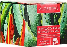 Parfums et Produits cosmétiques Crème de nuit au jus d'aloès bio - Aloesove