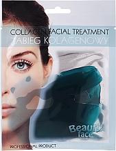 Parfums et Produits cosmétiques Traitement au collagène et aux oligo-éléments marins pour visage - Beauty Face Collagen Hydrogel Mask