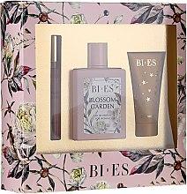 Parfums et Produits cosmétiques Bi-es Blossom Garden - Coffret cadeau (eau de parfum/100ml + gel douche/50 ml + parfum/12ml)