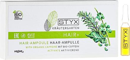Ampoules à la caféine bio pour cheveux - Styx Naturcosmetic Haar Balsam mit Melisse