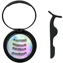 Parfums et Produits cosmétiques Set (faux-cils magnétiques/1pcs + applicateur de faux-cils) - Moon Lash Magnetic Eyelashes 001 Magnetic Moon