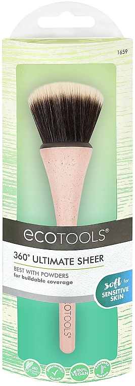 Pinceau poudre - EcoTools 360° Ultimate Sheer Brush