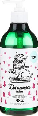 Savon liquide naturel - Yope Zimowa Herbata Hand Soap