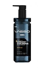 Parfums et Produits cosmétiques Crème-Eau de Cologne après-rasage - Vasso Professional Men After Shave Cream Cologne Sine Out