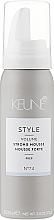Parfums et Produits cosmétiques Mousse coiffante №74 - Keune Style Strong Mousse Travel Size