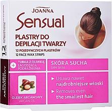 Parfums et Produits cosmétiques Bandes de cire à l'huile d'argan pour visage - Joanna Sensual Depilatory Face Strips