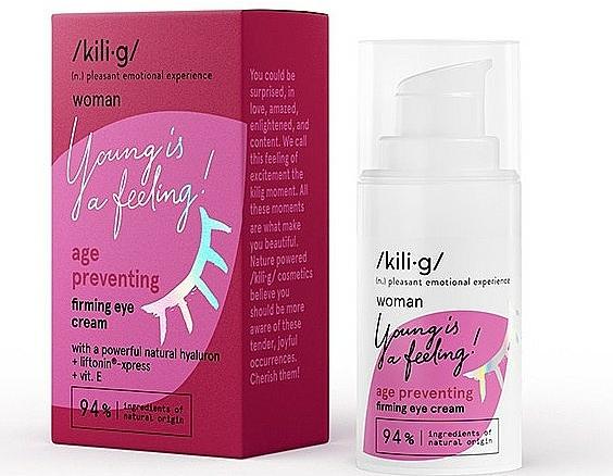 Crème à la vitamine E contour des yeux - Kili·g Woman Age Preventing Eye Cream