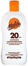 Parfums et Produits cosmétiques Lait corporel protecteur SPF 20 - Malibu Lotion Medium Protection