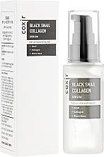 Parfums et Produits cosmétiques Sérum à la bave d'escargot pour visage - Coxir Black Snail Collagen Serum