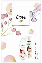 Parfums et Produits cosmétiques Dove Relaxing Care - Set (gel douche/250ml + lotion corporelle/250ml)
