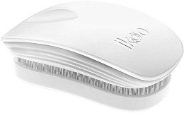 Parfums et Produits cosmétiques Brosse à cheveux compacte, blanche - Ikoo Pocket White Brush
