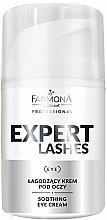 Parfums et Produits cosmétiques Crème à l'allantoïne contour des yeux - Farmona Professional Expert Lashes Soothing Eye Cream