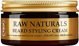 Parfums et Produits cosmétiques Crème coiffante pour barbe - Recipe For Men RAW Naturals Beard Styling Cream