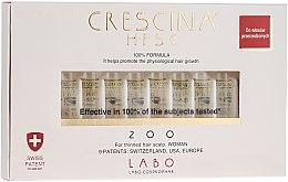 Parfums et Produits cosmétiques Traitement capillaire régénérant en ampoules - Labo Crescina HFSC Re-Growth 200