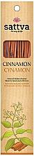 Parfums et Produits cosmétiques Bâtons d'encens, Cannelle - Sattva Cinnamon