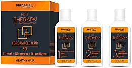 Parfums et Produits cosmétiques Coffret cadeau - Prosalon Hot Therapy (mask/50ml + shm/50ml + cond/50ml)