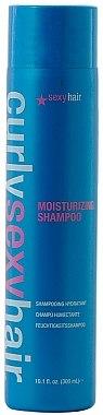 Shampooing hydratant pour cheveux bouclés - SexyHair CurlySexyHair Moisturizing Shampoo — Photo N1
