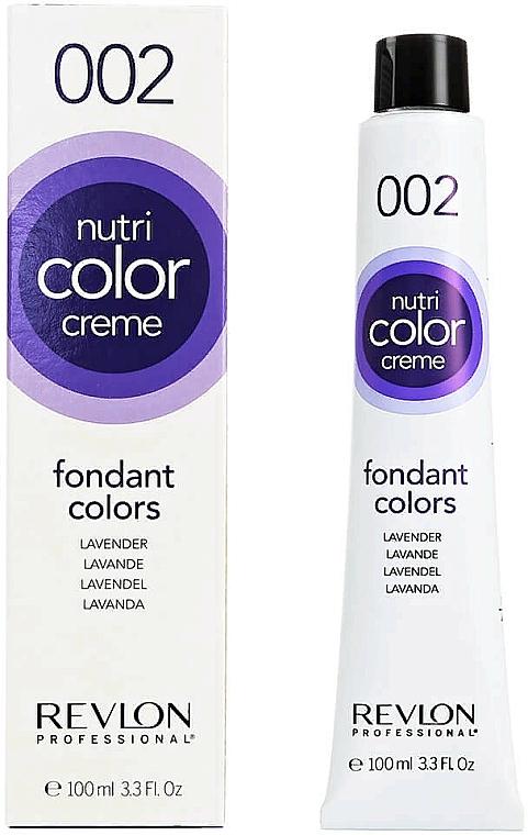 Crème colorante sans ammoniaque pour cheveux - Revlon Professional Nutri Color Creme Fondant Colors — Photo N1