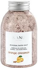 Parfums et Produits cosmétiques Sel de bain minéral Orange et Cannelle - Kanu Nature Orange Cinnamon Mineral Bath Salt