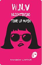 Parfums et Produits cosmétiques Masque tissu illuminateur pour le visage - Rainbow L'Affair K-Mask Sheet W.N.V Brightening Tone Up Mask