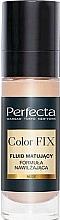 Parfums et Produits cosmétiques Fluide matifiant et hydratant pour visage - Perfecta Color Fix Make-Up Mattifing Fluid