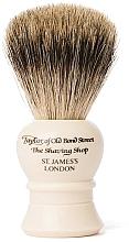 Parfums et Produits cosmétiques Blaireau de rasage, P2233, beige - Taylor of Old Bond Street Shaving Brush Pure Badger size S