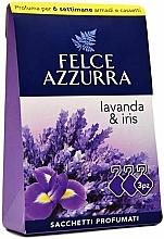Parfums et Produits cosmétiques Sachet aromatique, Lavande et Iris - Felce Azzurra Sachets Lavender and Iris